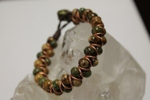 Bracelet made in the Baubles & Rings class