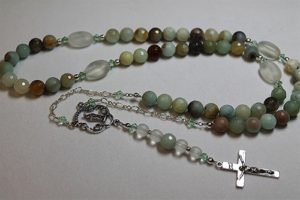 Make a rosary in one of the classes at The Twisted Bead & Rock Shop.