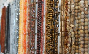 A selection of gemstones in shades of brown that are available at The Twisted Bead & Rock Shop.