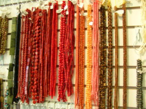 Warm tone beads available at The Twisted Bead & Rock Shop.
