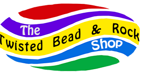 The Twisted Bead & Rock Shop logo
