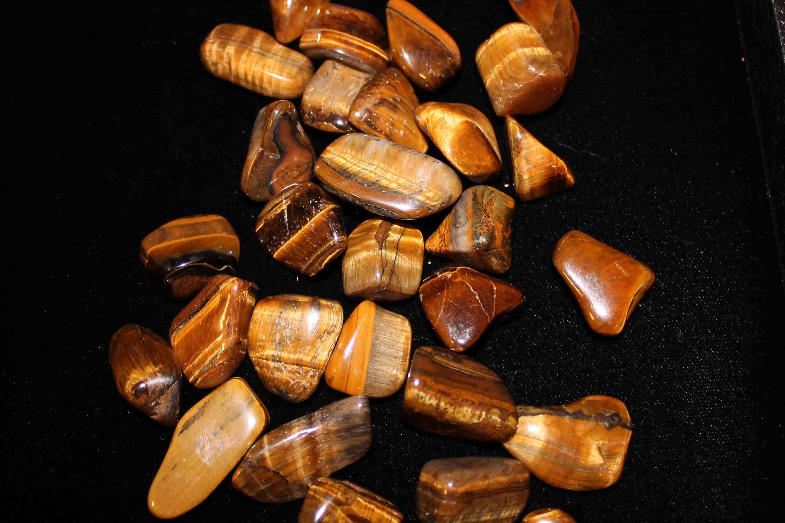 Tumbled Tiger Eye Stones