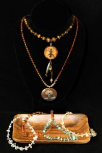 basic beading examples bracelets and necklaces