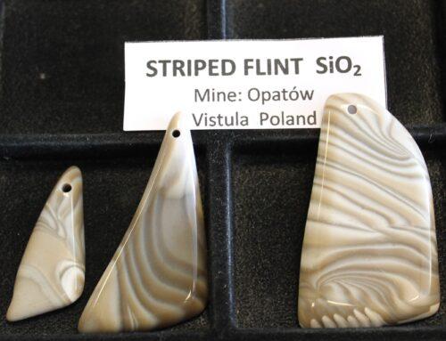 Striped Flint from Vistula Poland