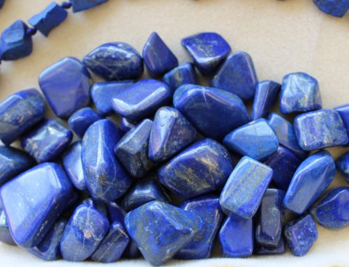 Premium tumbled Lapis from Afganistan