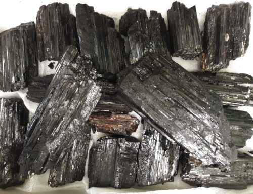Black Tourmaline Pieces