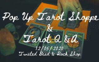 tarot pop up event