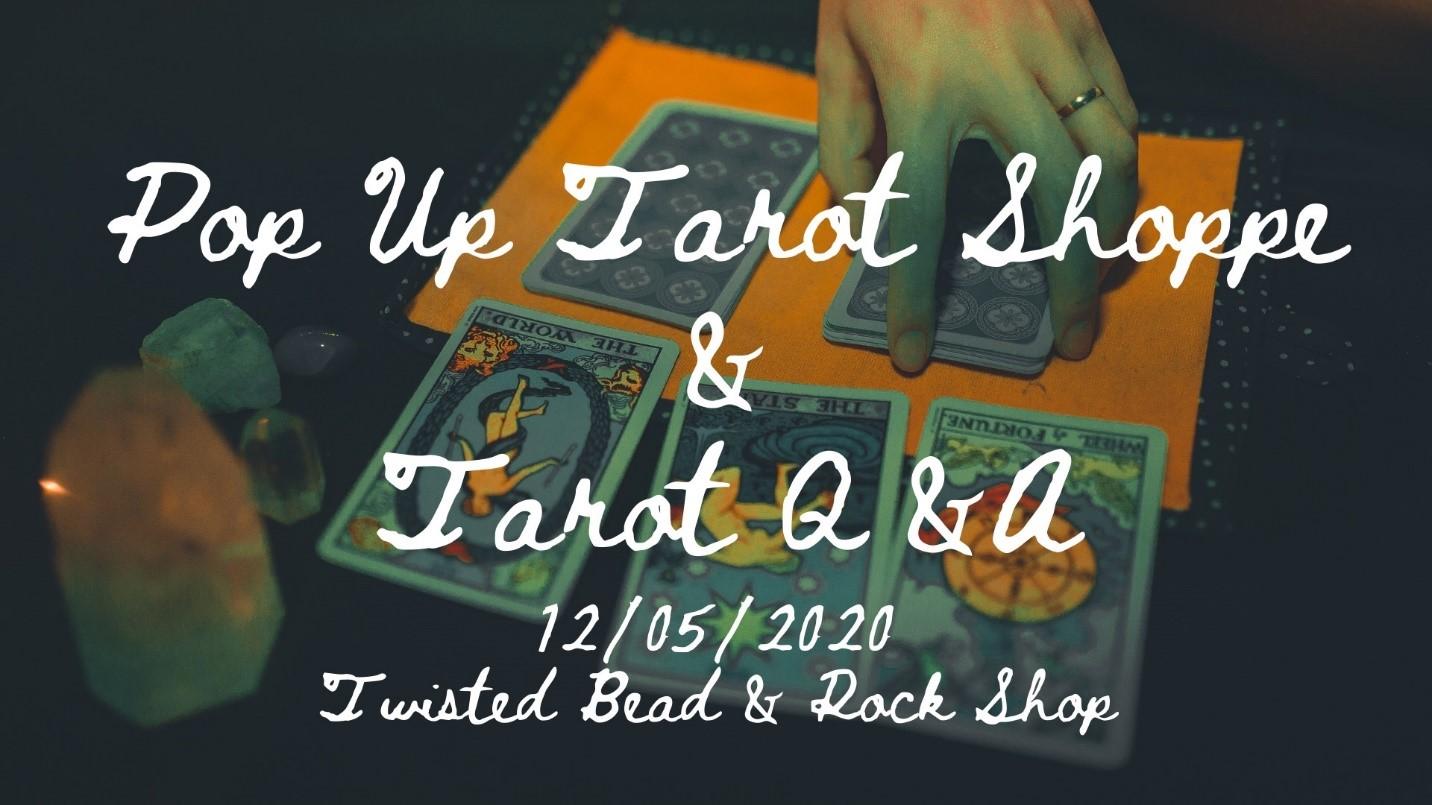 tarot pop up event