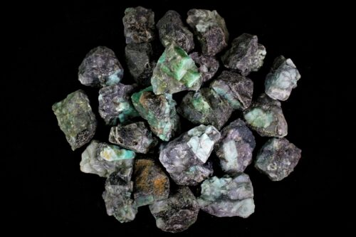 emerald crystal rough stone