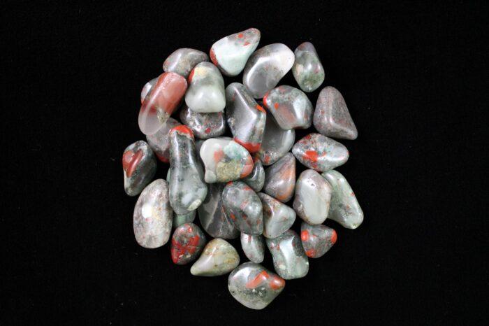 bloodstone crystal Tumbled Stone