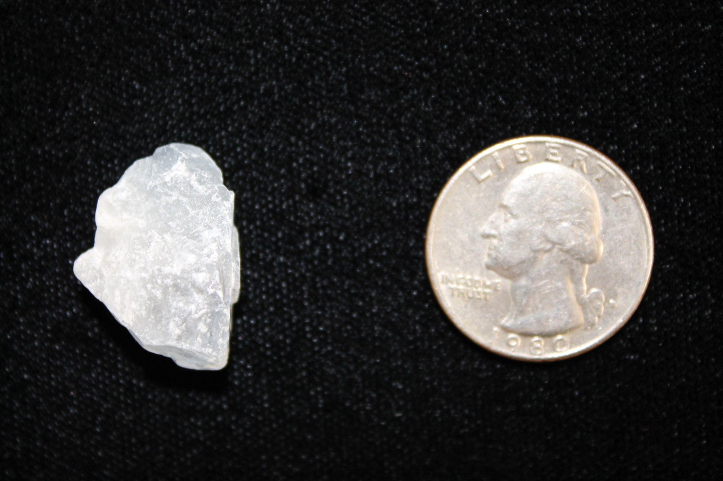 Celestite nugget crystal